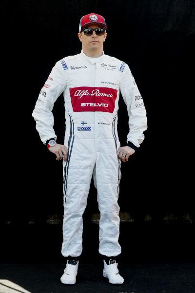 Official Portrait Kimi Raikkonen, Alfa Romeo Racing