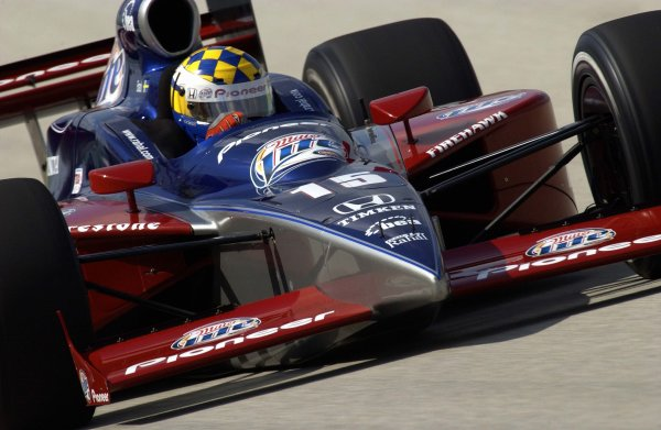 2003 IRL IndyCar Homestead, 2/28-3/2,2003, Homestead-Miami Speedway, USA Kenny Brack.World Copyright-F Peirce Williams 2003 LAT Photographicref: Digital Image Only