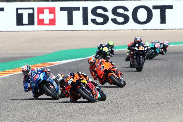 Miguel Oliveira, Red Bull KTM Factory Racing, Alex Rins, Team Suzuki MotoGP.