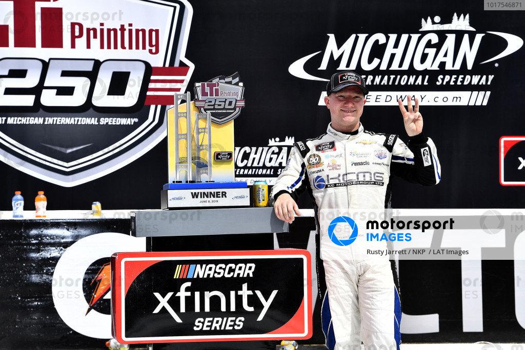 #2: Tyler Reddick, Richard Childress Racing, Chevrolet Camaro KC Motorgroup wins