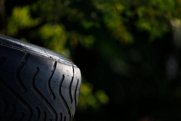 Sepang International Circuit, Sepang, Kuala Lumpur, Malaysia. Thursday 26 March 2015. Tyres. World Copyright: Alastair Staley/LAT Photographic. ref: Digital Image _79P0788