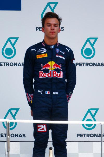 Pierre Gasly (FRA, PREMA Racing)  2016 GP2 Series Round 10 Sepang International Circuit, Sepang, Malaysia. Sunday 2 October 2016  Photo: /GP2 Series Media Service ref: Digital Image _X0W9602