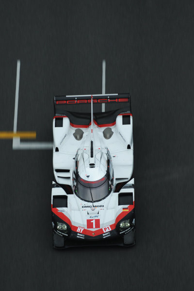 2017 FIA World Endurance Championship, Shanghai, China. 3rd-5th November 2017, #1 Porsche LMP Team Porsche 919 Hybrid: Neel Jani, Andre Lotterer, Nick Tandy  World Copyright. JEP/LAT Images