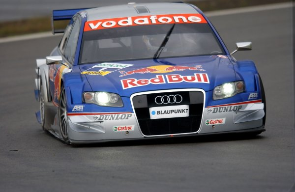 2005 DTM Championship Nurburgring, Germany. 6th - 7th August 2005Mattias Ekstrom (Abt Sportsline Audi A4). Action.World Copyright: Andre Irlmeier / LAT Photographic ref: Digital Image Only