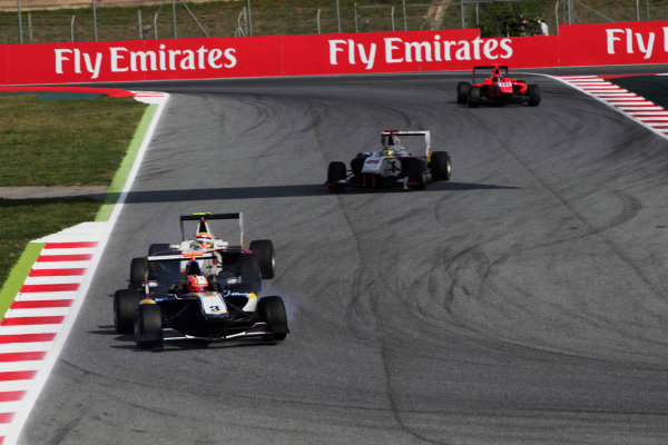 2015 GP3 Series Round 1. Circuit de Catalunya, Barcelona, Spain. Sunday 10 May 2015. Mitchell Gilbert (AUS, Carlin). Photo: Zak Mauger/GP3 Series Media Service. ref: Digital Image _MG_7314
