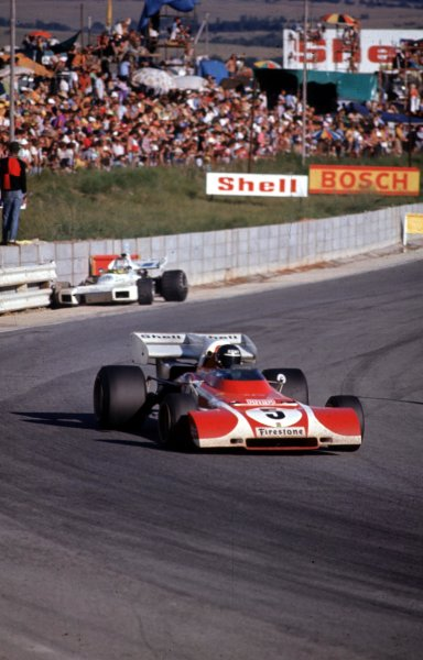 1972 South African Grand Prix.Kyalami, South Africa.2-4 March 1972.Jacky Ickx (Ferrari 312B2) 8th position.Ref-72 SA 08.World Copyright - LAT Photographic