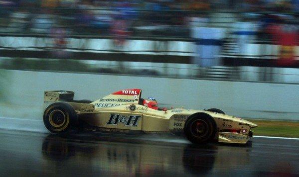 1996 Spanish Grand Prix.Catalunya, Barcelona, Spain.31/5-2/6 1996.Rubens Barrichello (Jordan 196 Peugeot).World Copyright - LAT Photographic