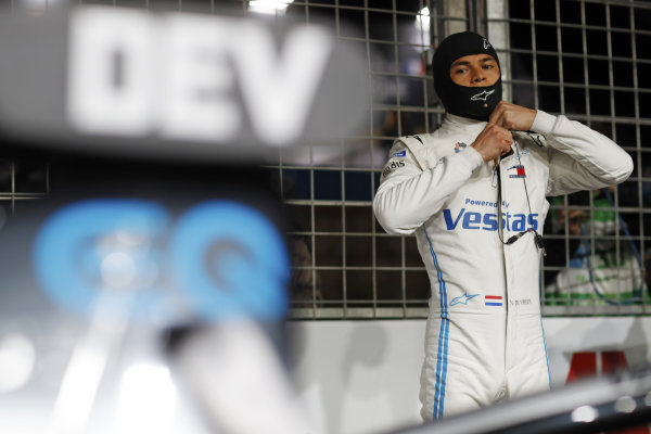 Nyck de Vries (NLD) Mercedes Benz EQ, on the grid