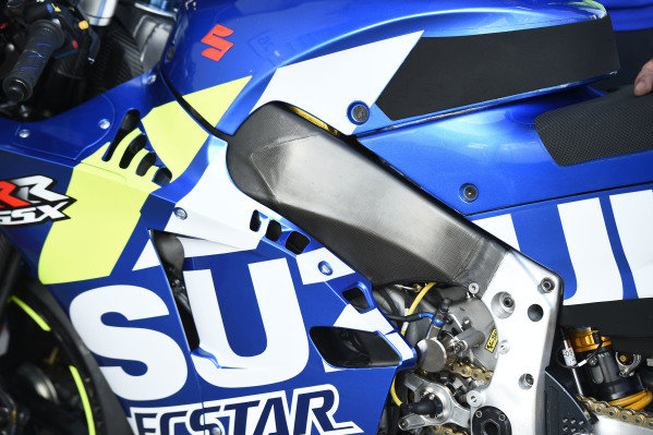 Team Suzuki MotoGP, bike detail