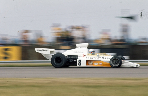 Peter Revson, McLaren M23 Ford.