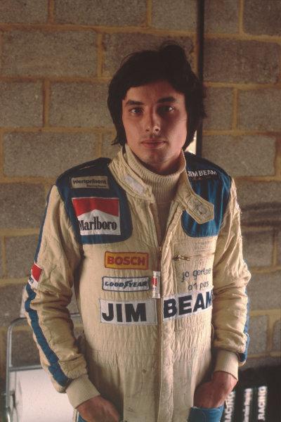 Formula 1 World Championship.Jo Gartner.Ref-G16A 01.World - LAT Photographic