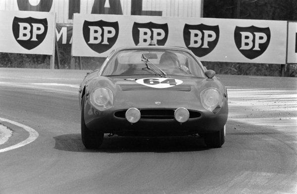 Marcel Martin / Jean Mesange, Ecurie du Maine, Abarth 1300OT-Fiat.