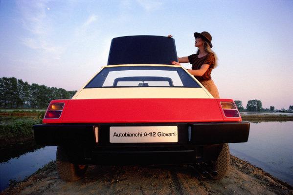 Concept Car, Pininfarina Autobianchi A112 Giovani, 1973