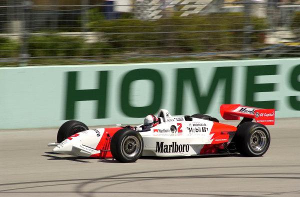 2000 CART Miami G P. Homestead-Miami SpeedwayMiami, Florida, USA, 26 March, 2000Gil de Ferran (Marlboro Team Penske Reynard-Honda) qualified on pole.-2000, Michael L. Levitt, USALAT PHOTOGRAPHIC