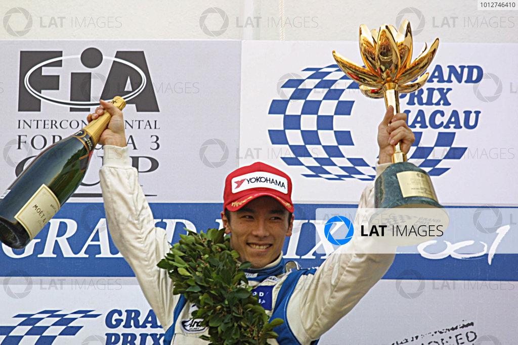 2001 Macau Grand Prix.