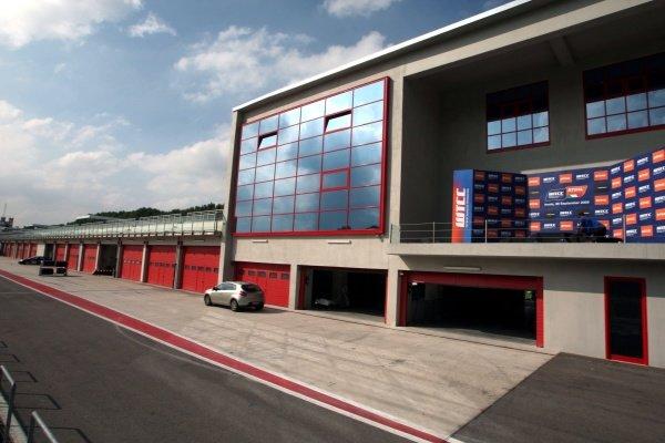 WTCC podium.Imola Track Walk, Imola, San Marino, Thursday 17 September 2009.