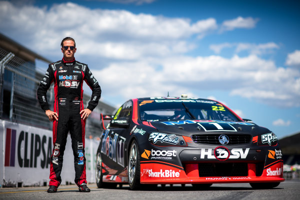2017 Supercars Championship Round 1.  Clipsal 500, Adelaide, South Australia, Australia. Thursday March 2nd to Sunday March 5th 2017. James Courtney driver of the #22 Mobil 1 HSV Racing Holden Commodore VF. World Copyright: Daniel Kalisz/LAT Images Ref: Digital Image 010217_VASCR1_DKIMG_0105.JPG