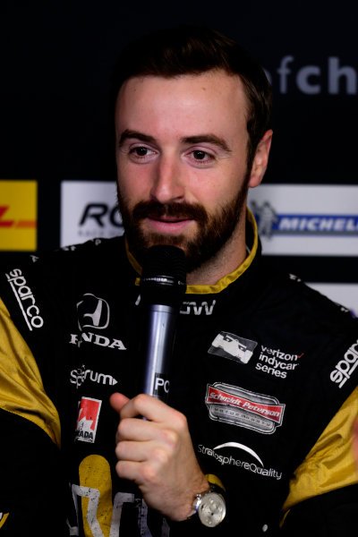 2017 Race of Champions Miami, Florida, USA Friday 20 January 2017 James Hinchcliffe World Copyright: Alexander Trienitz/LAT Photographic ref: Digital Image 2017-RoC-MIA-AT1-0424