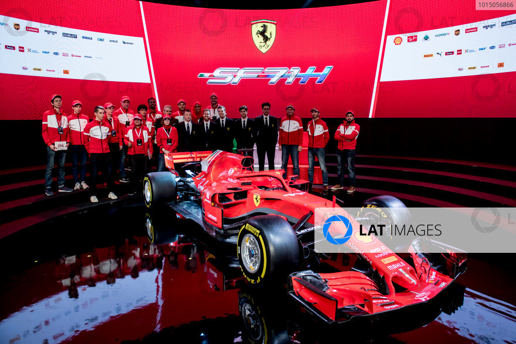 Ferrari SF71H  launch