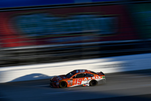 Monster Energy NASCAR Cup Series First Data 500 Martinsville Speedway, Martinsville VA USA Sunday 29 October 2017 Daniel Suarez, Joe Gibbs Racing, ARRIS Toyota Camry World Copyright: Scott R LePage LAT Images ref: Digital Image lepage-171029-mart-8849