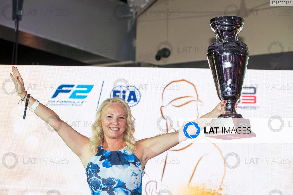 2017 Awards Evening. Yas Marina Circuit, Abu Dhabi, United Arab Emirates. Sunday 26 November 2017.  Photo: Zak Mauger/FIA Formula 2/GP3 Series. ref: Digital Image _56I3894