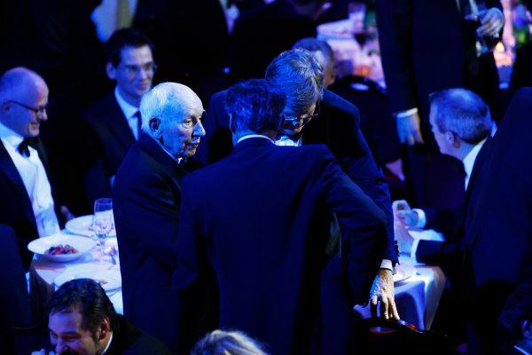 2015 Autosport Awards. Grosvenor House Hotel, Park Lane, London. Sunday 6 December 2015. John Surtees. World Copyright: Sam Bloxham/LAT Photographic. ref: Digital Image _SBL4426