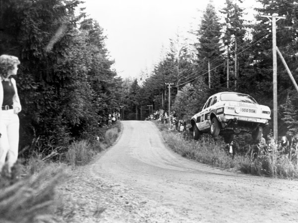 1000 Lakes Rally, Finland. 29th - 31st August 1975.