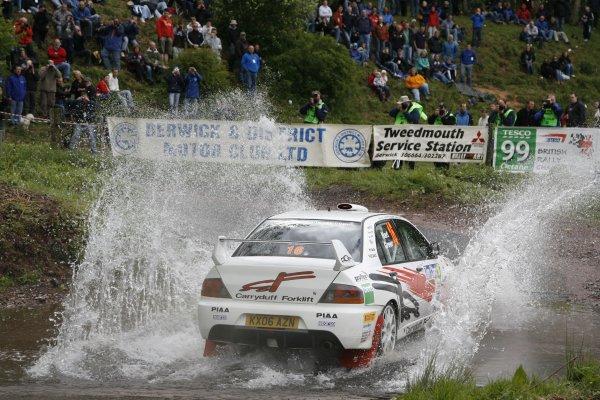 2008 British Rally Championship,Jim Clark Rally, 23rd-25th May 2008,Jonathan Greer/Jonny Hart Mitsubishi Evo 9World Copyright: Ebrey/LAT Photographic.