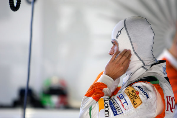 Suzuka Circuit, Suzuka, Japan.2nd October 2009.Vitantonio Liuzzi, Force India VJM02 Mercedes. Portrait. World Copyright: Glenn Dunbar/LAT Photographic ref: Digital Image _MG_6478