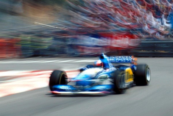 Race winner Michael Schumacher (GER) Benetton B195. Formula One World Championship, Monaco Grand Prix, Monte Carlo, 28 May 1995 Catalogue Ref.: 10-032 Sutton Motorsport Images Catalogue