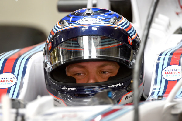 Valtteri Bottas (FIN) Williams FW36. Formula One World Championship, Rd16, Russian Grand Prix, Qualifying, Sochi Autodrom, Sochi, Krasnodar Krai, Russia, Saturday 11 October 2014.