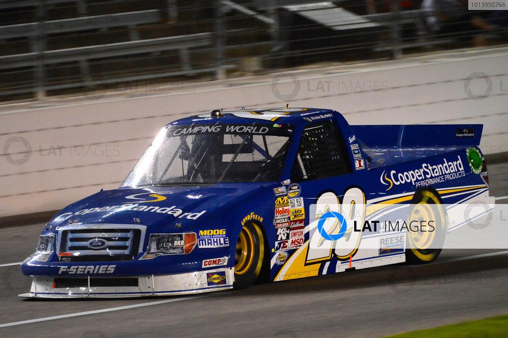 June 06-07, 2013, Fort Worth, Texas USA Ryan Blaney truck © 2013, Brian Czobat LAT Photo USA .