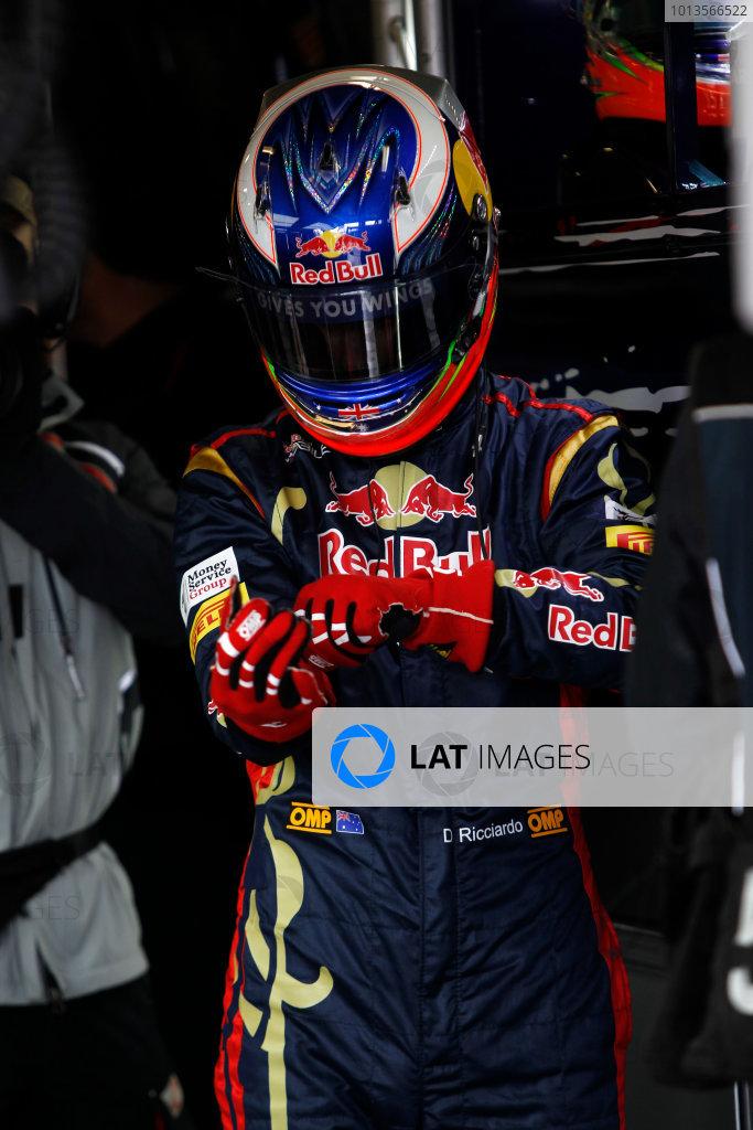 Albert Park, Melbourne, Australia25th March 2011.Daniel Ricciardo, Toro Rosso STR6 Ferrari.World Copyright:Andrew Ferraro/LAT Photographicref: Digital Image _Q0C7603