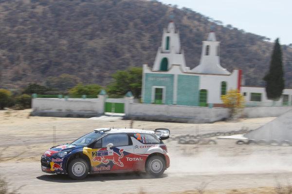 Round 2, Rally of Mexico, 3rd-6th March 2011Sebastien Ogier, Julien Ingrassia,Citroen DS3 WRC, Action, Worldwide Copyright: McKlein/LAT