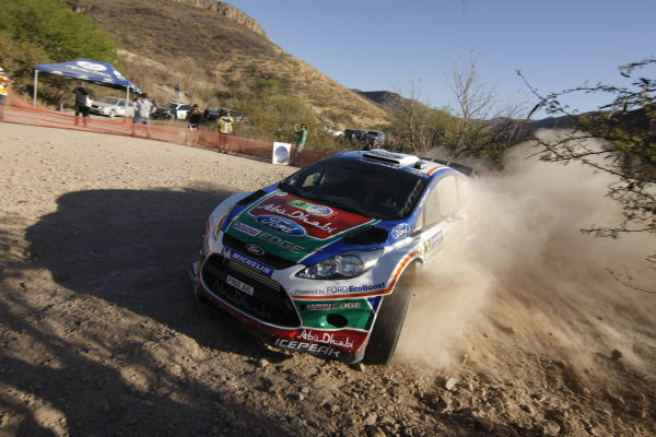 Round 2, Rally of Mexico, 3rd-6th March 2011Mikko Hirvonen, Jarmo Lechtinen, Ford Fiesta RS WRC, Action, Worldwide Copyright: McKlein/LAT