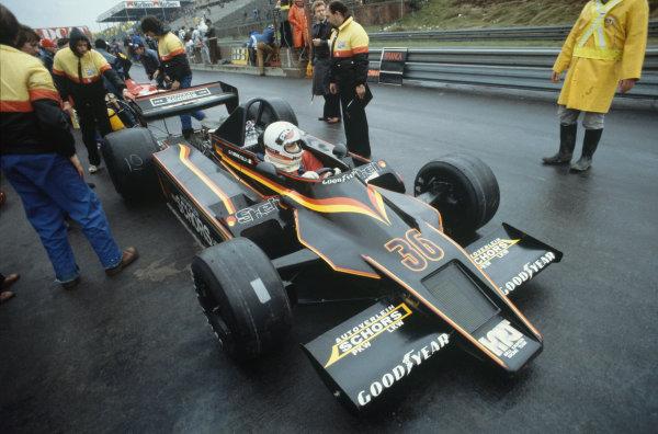 Zolder, Belgium. 11-13 May 1979. Gianfranco Brancatelli, Kauhsen WK Ford, did not qualify. Ref: 79BEL16. World Copyright - LAT Photographic