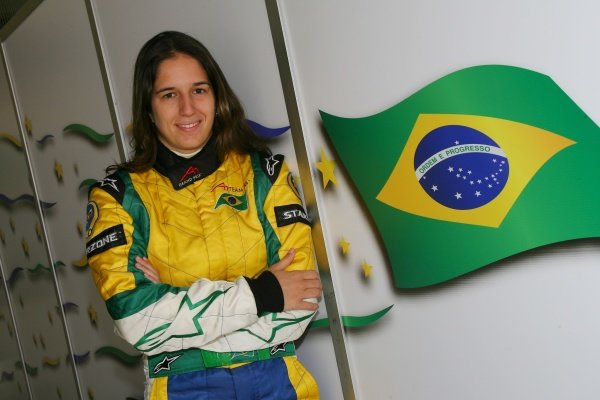 13.04.2007 Shanghai, China, Bia Figueiredo, Driver of A1Team Brazil - A1GP World Cup of Motorsport 2006/07, Round 10, Shanghai, Friday - Copyright A1GP Team Brazil - Copyright free for editorial usage