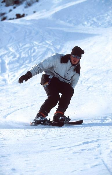 Alexander Wurz enjoys skiing when not racing.
