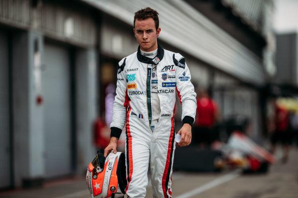 2017 GP3 Series Round 3.  Silverstone, Northamptonshire, UK. Thursday 13 July 2017. Anthoine Hubert (FRA, ART Grand Prix).  Photo: Malcolm Griffiths/GP3 Series Media Service. ref: Digital Image MALC3891