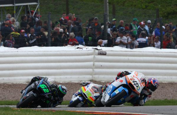 2017 Moto2 Championship - Round 9 Sachsenring, Germany Sunday 2 July 2017 Fabio Quartararo, Pons HP 40 World Copyright: David Goldman/LAT Images ref: Digital Image 34370