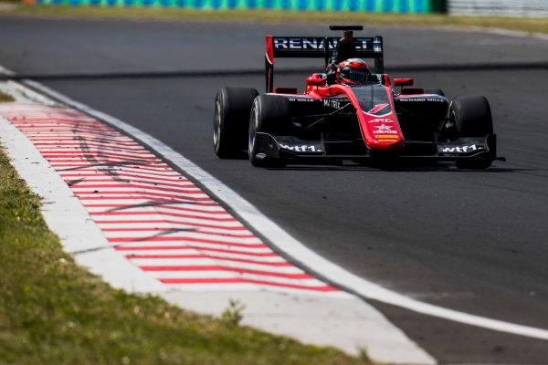 2017 GP3 Series Test 4.  Hungaroring, Budapest, Hungary. Wednesday 7 June 2017. Jack Aitken (GBR, ART Grand Prix)  Photo: Zak Mauger/GP3 Series Media Service. ref: Digital Image _56I2101