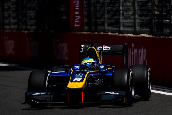 2017 FIA Formula 2 Round 4. Baku City Circuit, Baku, Azerbaijan. Friday 23 June 2017. Oliver Rowland (GBR, DAMS)  Photo: Zak Mauger/FIA Formula 2. ref: Digital Image _54I9729