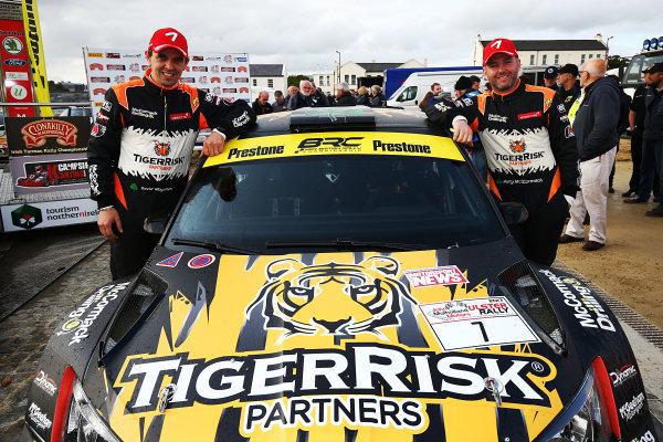 2017 British Rally Championship, Ulster Rally, Londonderry. 18th - 19th August 2017. Martin McCormack / David Moynihan Skoda Fabia R5 World Copyright: JEP/LAT Images.