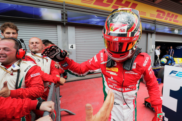 Spa Francorchamps, Belgium.  Saturday 26 August 2017 Charles Leclerc (MCO, PREMA Racing).  Photo: Mauger/FIA Formula 2 ref: Digital Image _54I1996