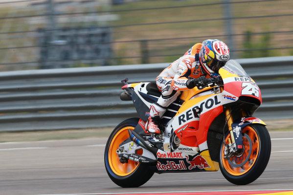 2017 MotoGP Championship - Round 14 Aragon, Spain. Friday 22 September 2017 Dani Pedrosa, Repsol Honda Team World Copyright: Gold and Goose / LAT Images ref: Digital Image 693628
