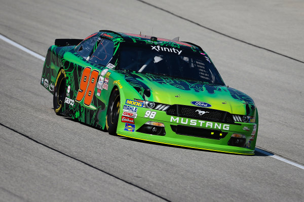 NASCAR XFINITY Series TheHouse.com 300 Chicagoland Speedway, Joliet, IL USA Friday 15 September 2017 Darrell Wallace Jr, Nickelodeon Green Slime Ford Mustang World Copyright: Barry Cantrell LAT Images