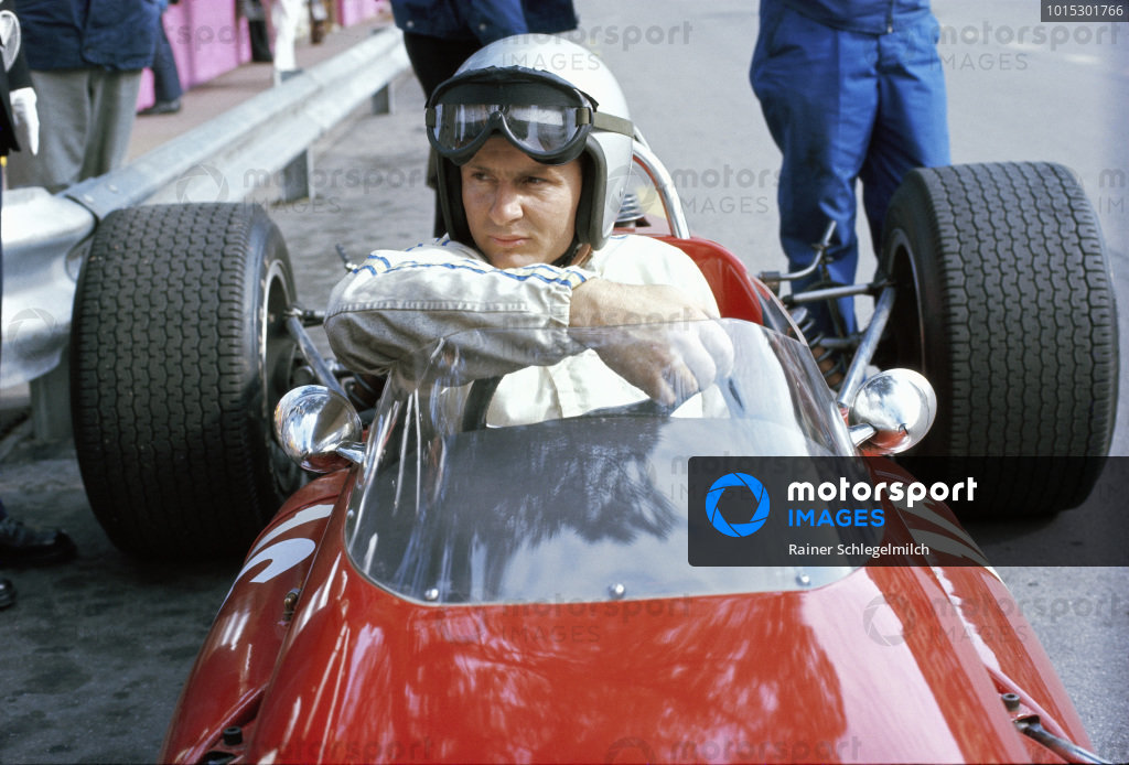 Bruce McLaren, McLaren M4B BRM.