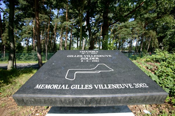 2007 Zandvoort Masters of Formula Three.Zolder, Belgium. 4th and 5th August 2007.Gilles Villeneuve memorial/monument.Atmosphere.World Copyright: Drew Gibson/LAT PhotographicRef: Digital Image Only.