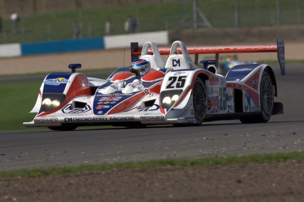 Mike Newton (GBR) RML MG Lola EX264 AER.