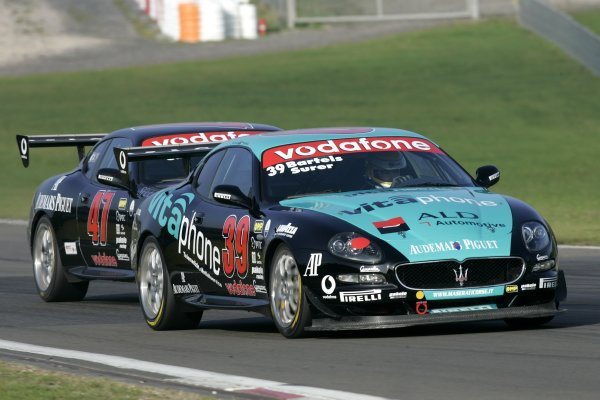 2005 Trofeo Maserati Championship,Nurburgring, Germany. 4th September, 2005,Bartels/Surer,World Copyright: Jakob Ebrey/LAT Photographic.